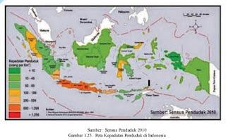 Jumlah dan Persebaran Penduduk Indonesia