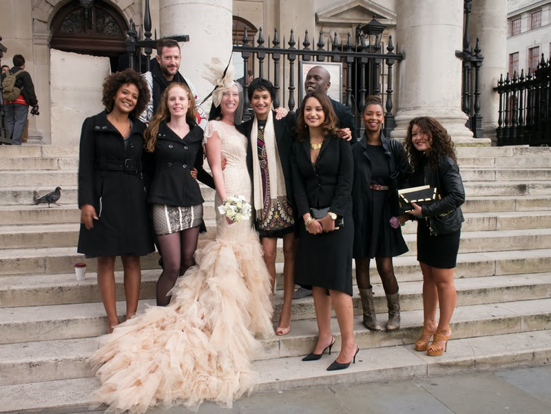 The Bells Were Chiming At St Martins In Fields Church Trafalgar Square What Was Occasion A Wedding And Bride From Canada