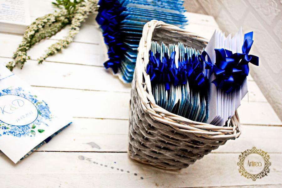 dodatki ślubne niebieskie