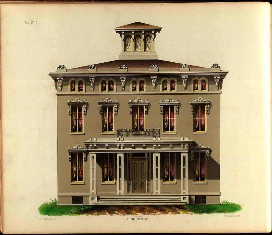 Wondrous The Picturesque Style Italianate Architecture Painting The Largest Home Design Picture Inspirations Pitcheantrous