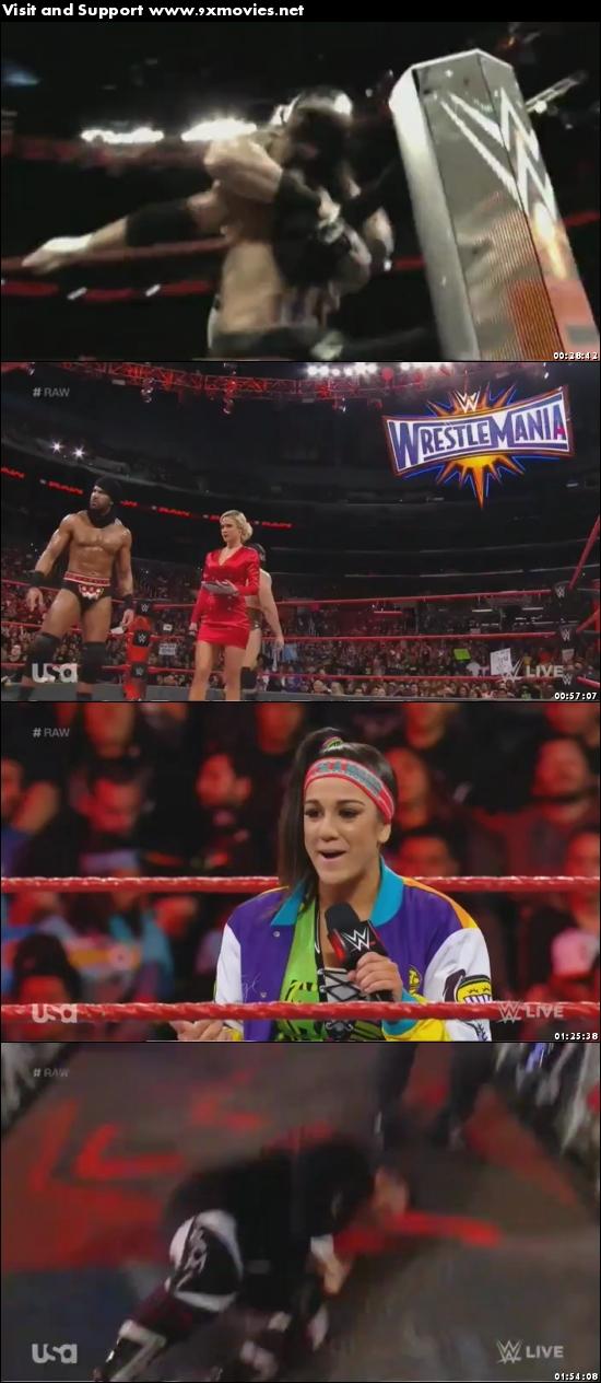 WWE Monday Night Raw 20 Feb 2017 HDTV 480p