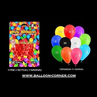 Balon Latex Doff 5 Inchi (Isi 50 Pcs / Pack)
