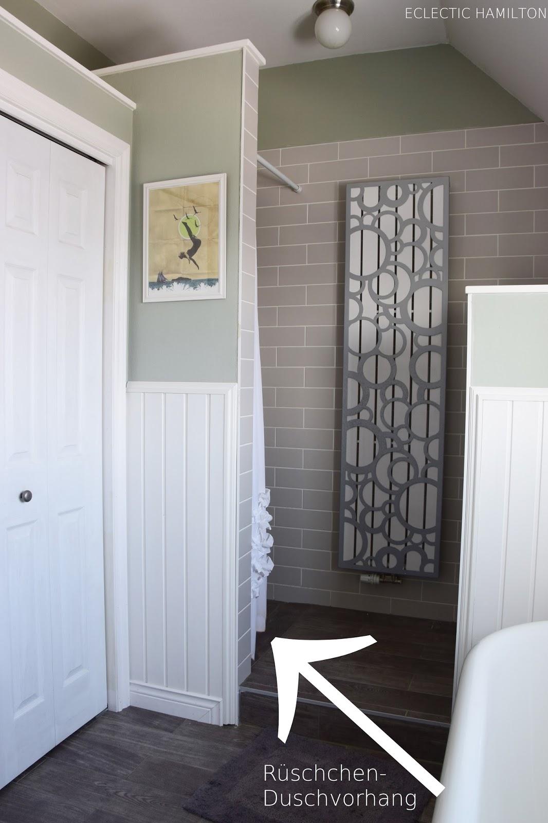 Duschvorhang Ideen und Tipps zur Aufhängung ohne Bohren. Bad, Badezimmer, Dusche, Duschvorhang, Tipp, Ratgeber