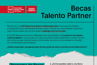 Becas Talento Partner/ UPF