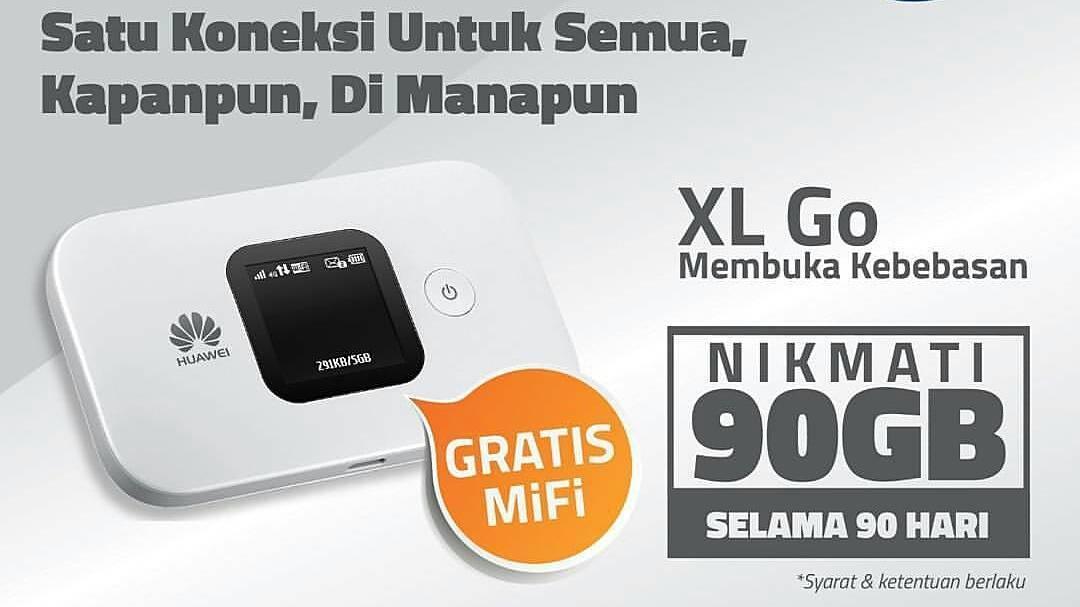Cek Kuota XL Go Mifi Mudah Dan Cepat Dari Smartphone