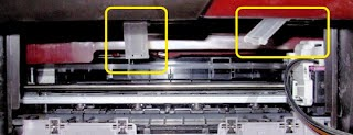 clips position to hold the system