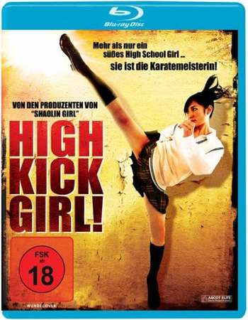 Poster Of High-Kick Girl 2009 Dual Audio 720p BRRip [Hindi - Japanese] Free Download Watch Online