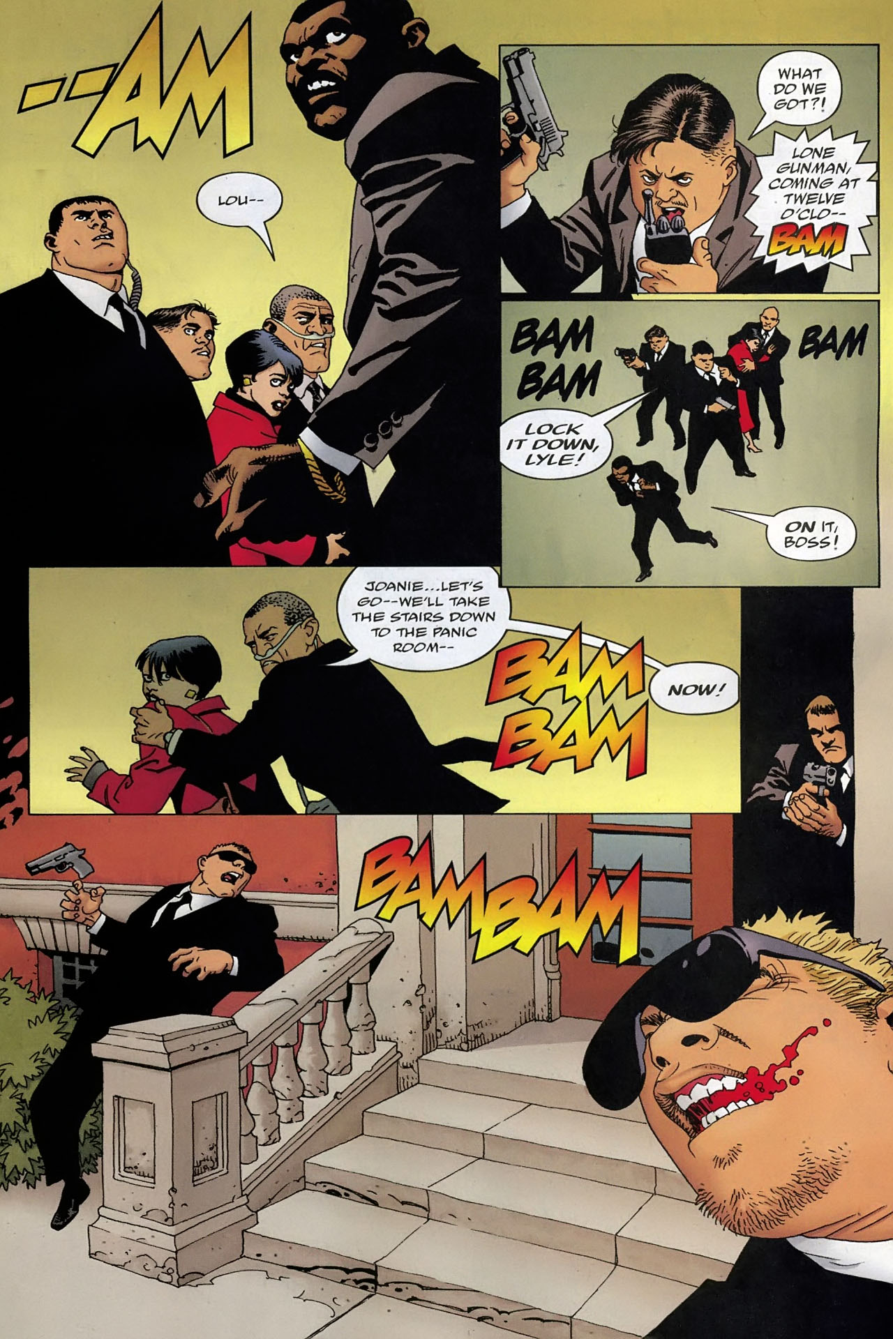 Read online 100 Bullets comic -  Issue #93 - 15