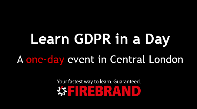 Learn GDPR in a Day event