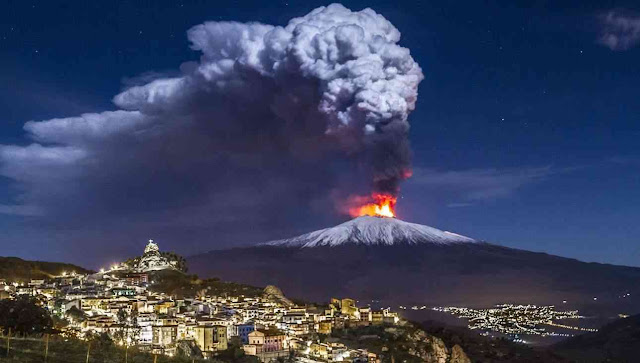Study Suggests Mt. Etna Is Just a Giant Hot Spring Not a Proper Volcano
