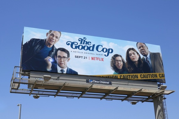 Good Cop series premiere billboard