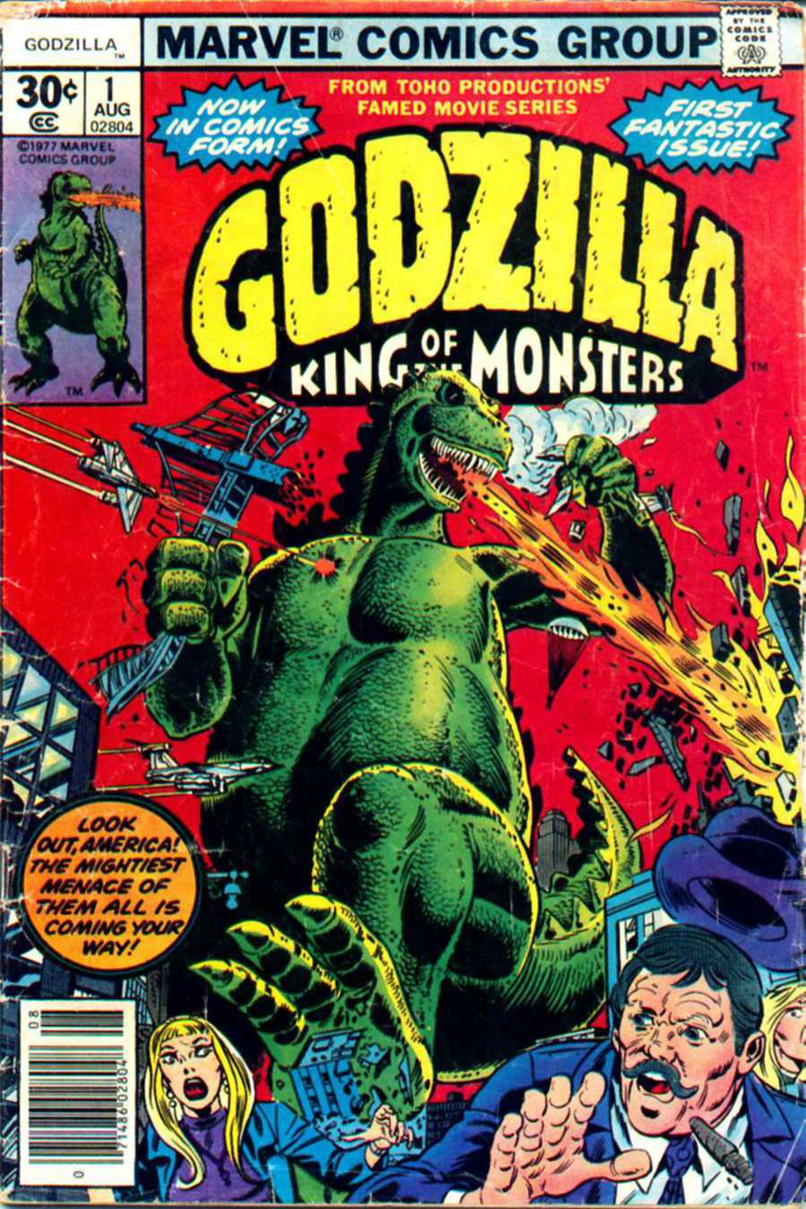 Godzilla (1977) 1 Page 1