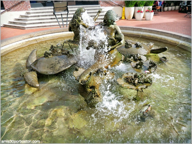 Andrea´s Fountain en la Plaza de Ghirardelli, San Francisco