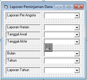 Download source coding program Koperasi Simpan Pinjam di vb6