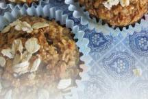 No Flour Sugar Free Oil Free Healthy Oatmeal Muffins Recipe