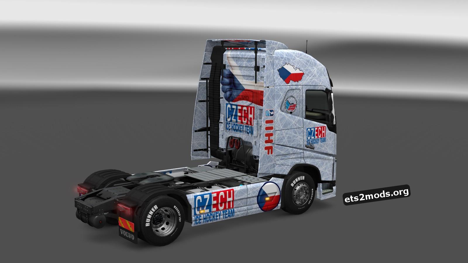 Czech Hockey Skin for Volvo 2012