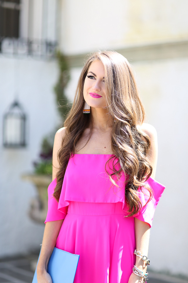 Hot Pink Southern Curls Amp Pearls Bloglovin