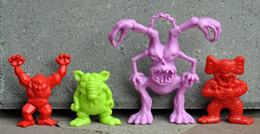 Arco: Mad Scientist Companion Figures