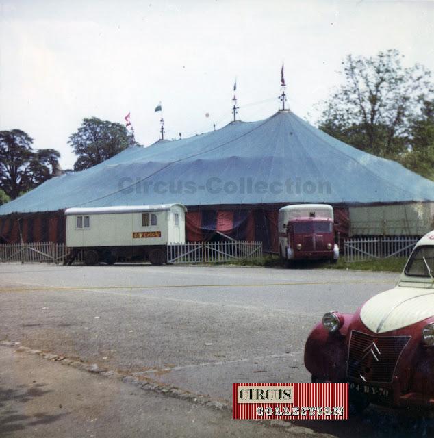 le chapiteau du Grand Cirque de France