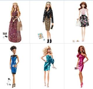 Coleção Barbie Look