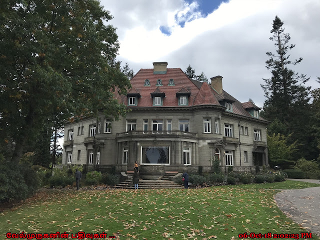 Oregon Pittock Mansion