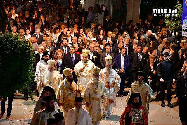 Η πόλη του Άργους γιορτάζει τον Πολιούχο της Άγιο Πέτρο τον Θαυματουργό (βίντεο)