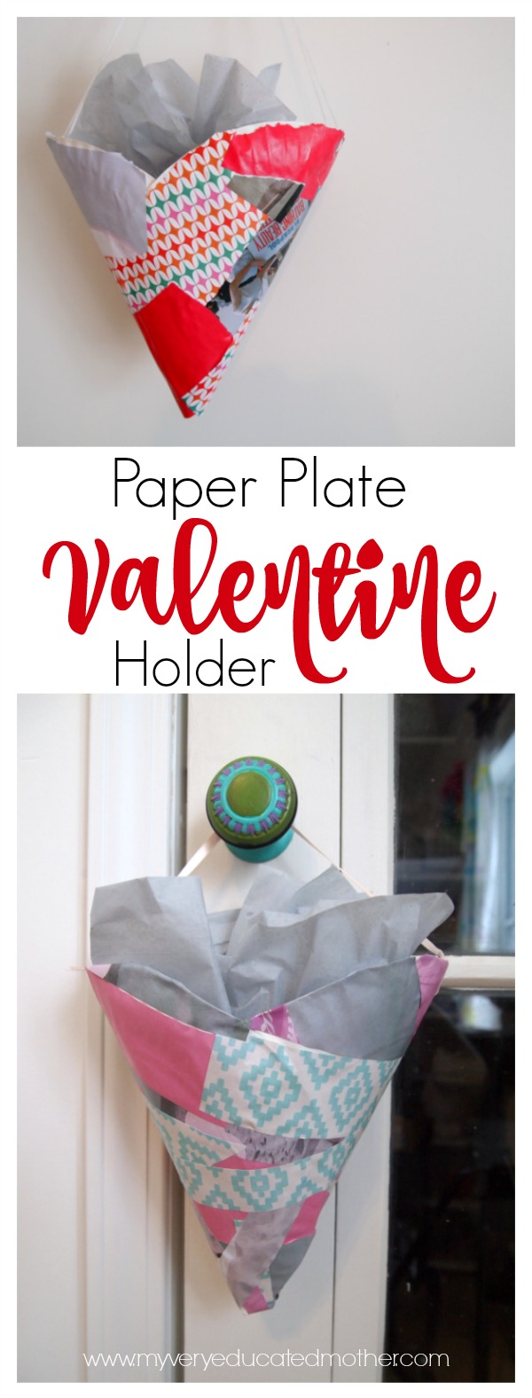 A great afternoon kids craft paper plate project to make this Valentine's Day!