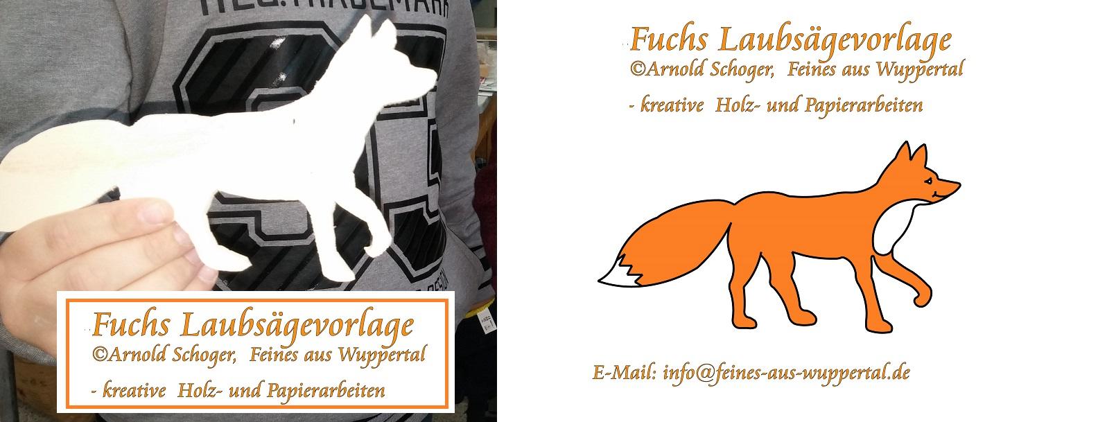 Gratis Fuchs Laubsägevorlage Kostenlose Laubsäge Vorlagen Für