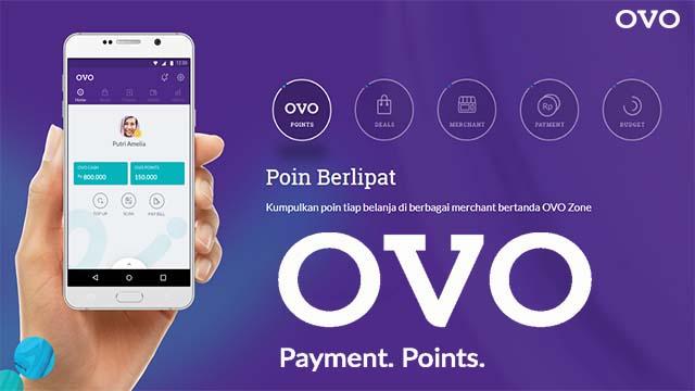OVO - Aplikasi Dompet Digital Yang Memberikan Banyak Promo