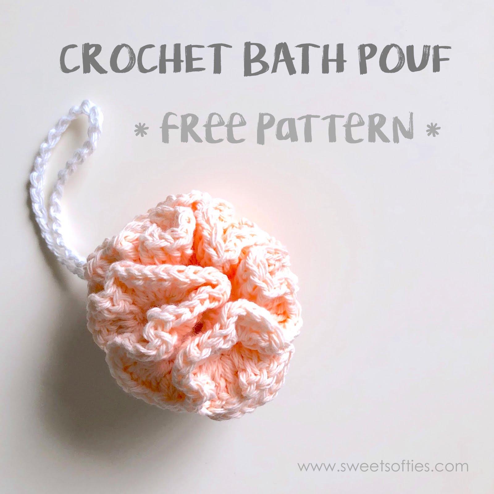 Bath Pouf Free Crochet Pattern Tea Rose Spa Set Part 2 Of 4