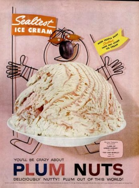 Perfect My Pretty Baby Cried She Was a Bird: Sealtest Ice Cream (late 1950's) US66