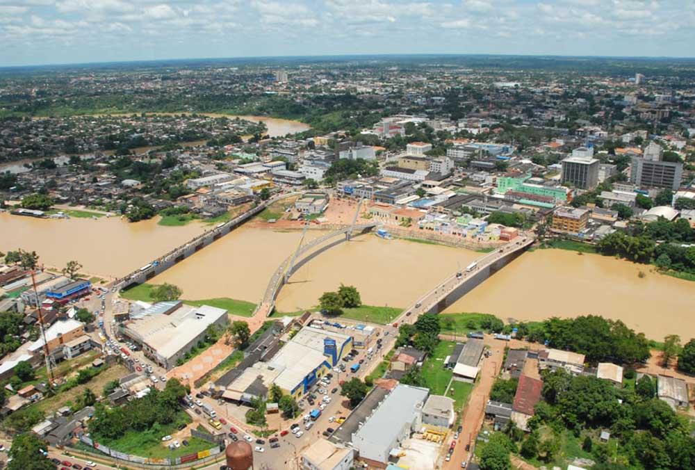 Rio Branco, Capital do Estado do Acre
