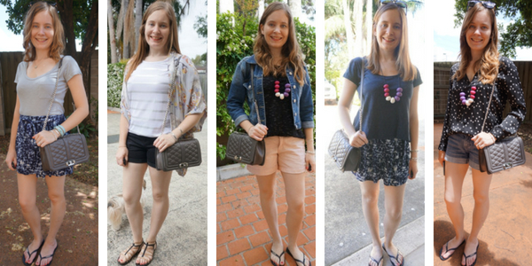 Rebecca Minkoff Love bag ways to wear with shorts in summer | away from the blue blog