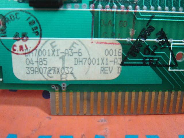 FISHER ROSEMOUNT DH7001X1-A3-6  39A0727X032 REV.D COMMON RAM CARD