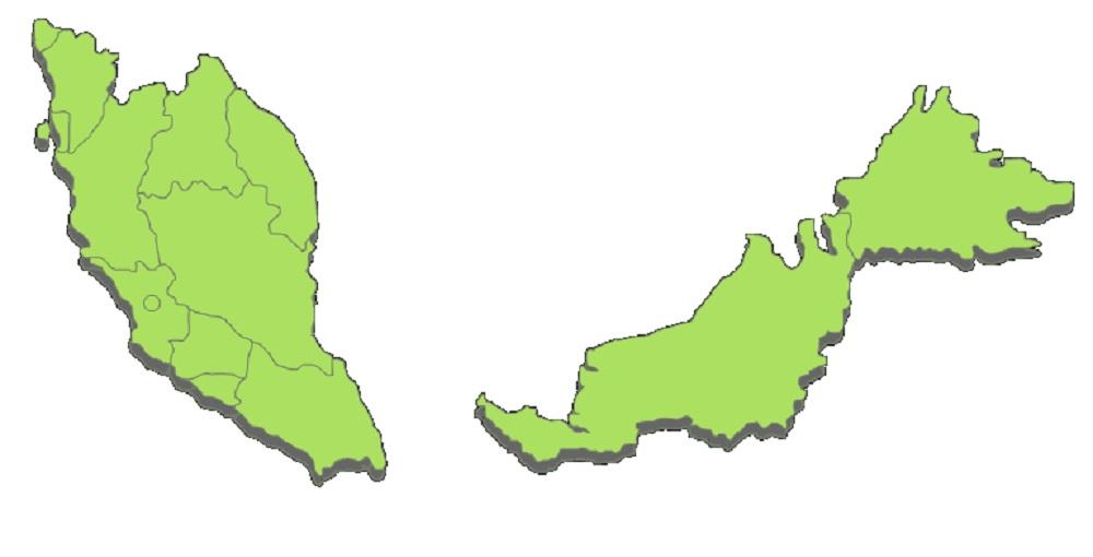 Peta Malaysia PNG