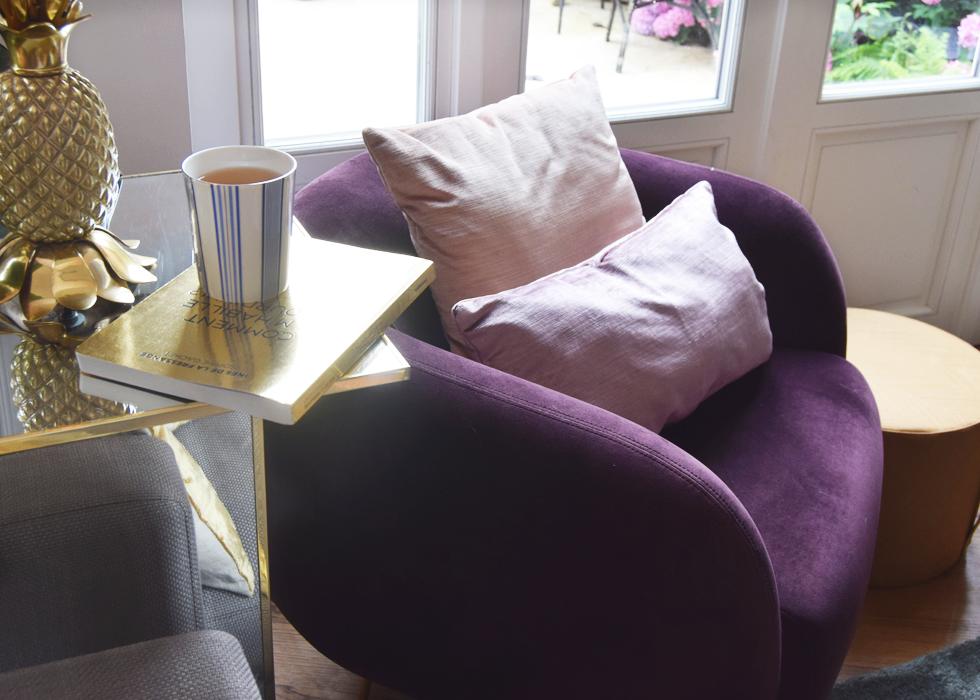 Interior, ARTE, SofaCompany, eclectic, decor, Missoni Home, living room, fauteuil, wallpaper