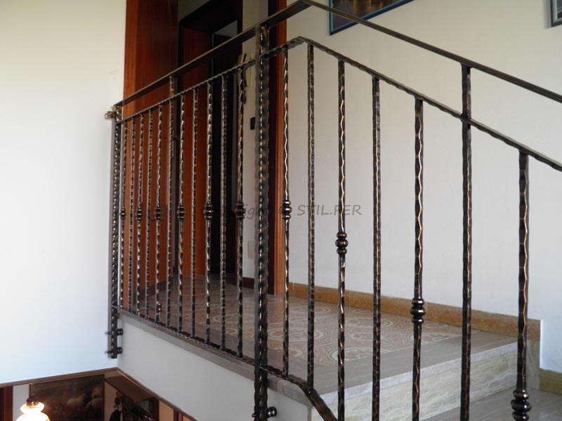 Favorito STIL.FER di Basso Lino: VICENZA ringhiera per scale interne GE18
