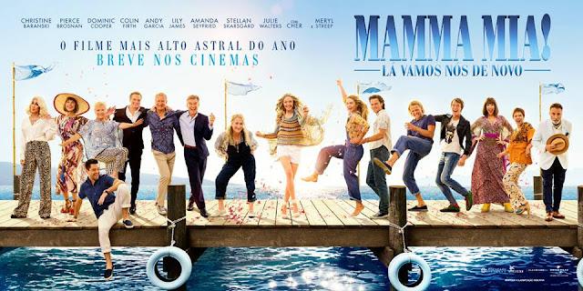 Resultado de imagem para Mamma Mia! Lá Vamos Nós de Novo  cartaz