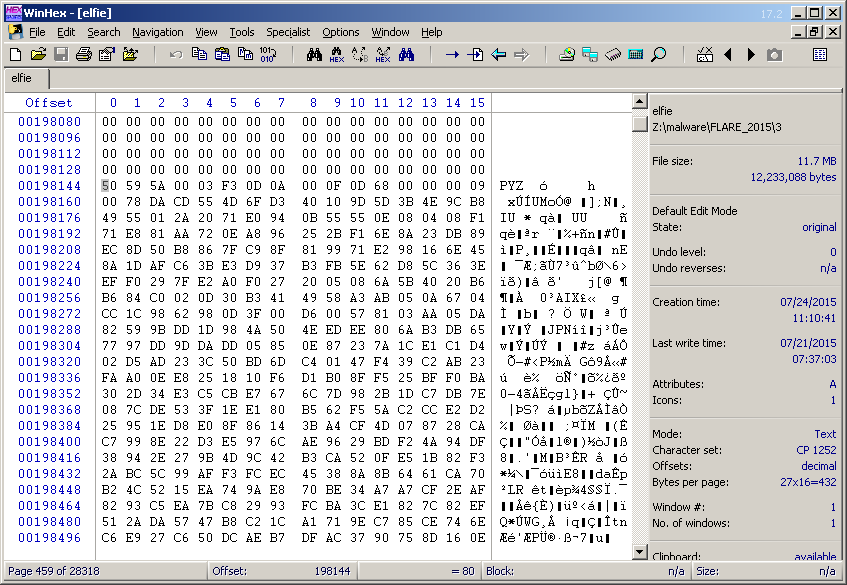 Ghetto Forensics: Solving the 2015 FLARE On Challenges