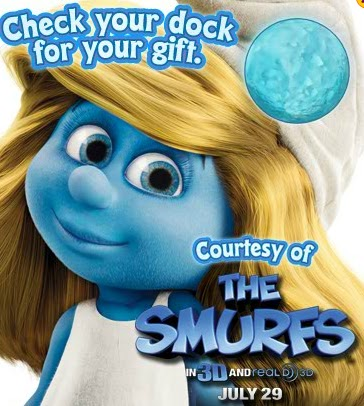 Let S Talk Webkinz Gift From The Smurfs