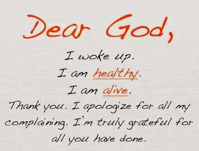 Thanks Prayer
