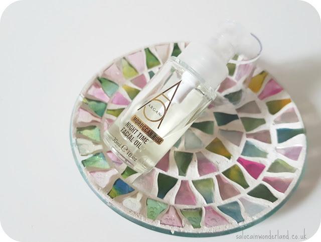 argan moroccan rose facial oil review