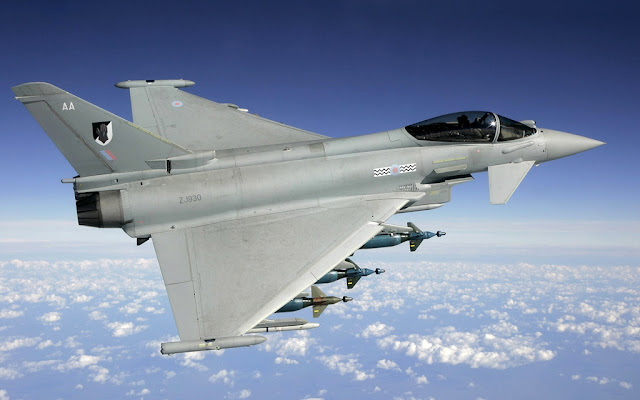 RAF Typhoon replace Tornado