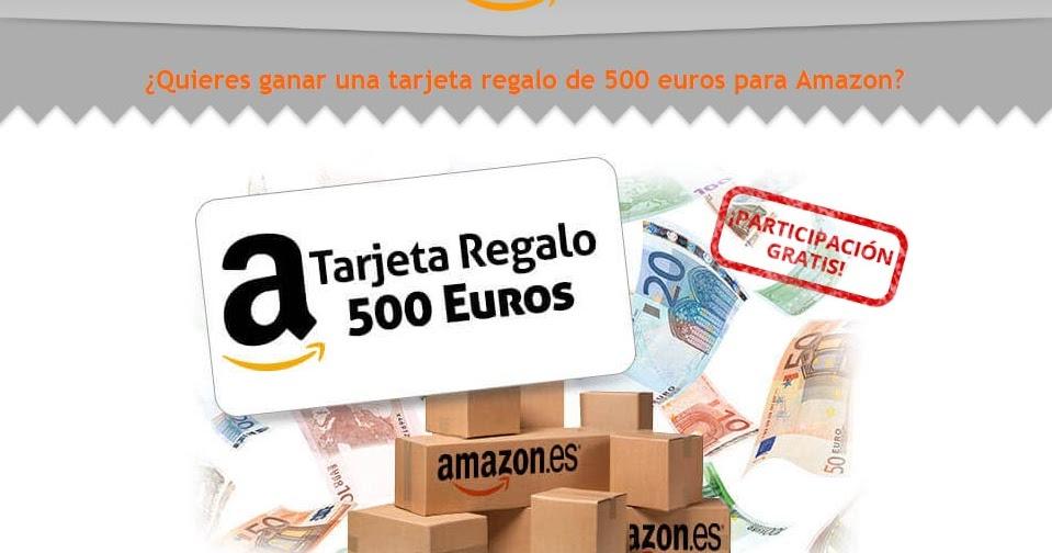 amazon tarjeta regalo 500 euros