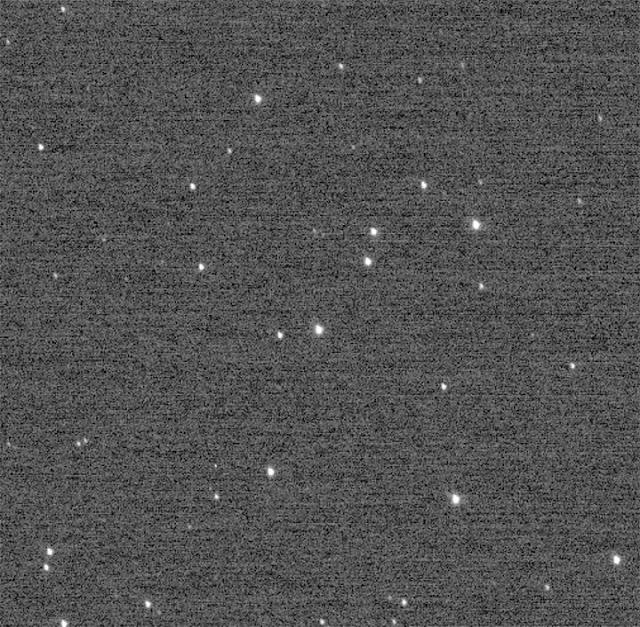 Recore anterior da New Hozirons feito apenas 2 horas antes das fotos dos objetos do Cinturão de Kuiper