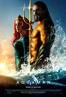 Poster Of Aquaman 2018 In Hindi Bluray 1080P Free Download