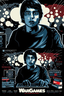 Limited Edition War Games poster - skuzzles.com