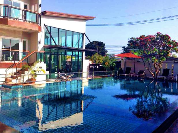 บี ออร์คิด พูล วิลลา (Bee Orchid Pool Villa) เกาะล้าน
