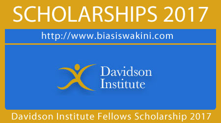 Davidson Institute Fellows Scholarship 2017