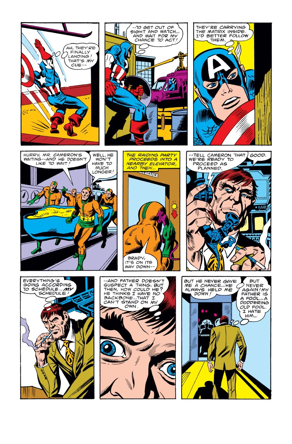 Captain America (1968) Issue #243 #158 - English 10